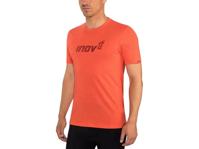 inov-8 Tri Blend Division Kurzarm T-Shirt Herren red